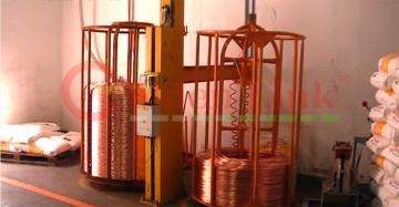 Quy trình sản xuất dây cáp mạng