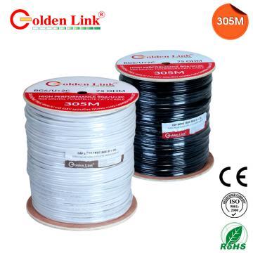 Cáp đồng trục Golden Link RG6/U 305M