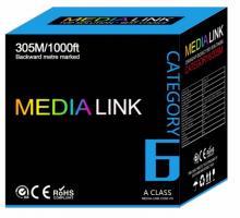 Cáp Mạng Media Link Cable FTP CAT6 Lõi 0.55 Đồng(IU6-3-003)