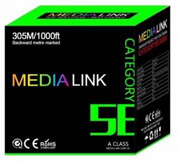 Cáp Mạng Media Link Cable FTP CAT5E Hợp kim đồng (IF5-1-003)