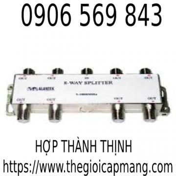 Bộ chia Alantek Splitter  Indoor 8 way ( Bandwidth 5-1000MHz )